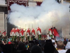 Dance of the devils of Tarragona