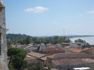 View of Blaye looking out to the Dordoyne